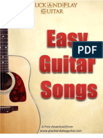 Easy Guitar Songs eBook
