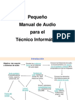 Manual de Audio