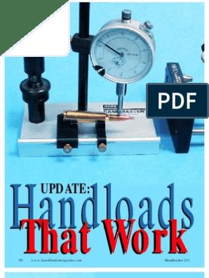 Handloads That Work | Bullet | Rifle