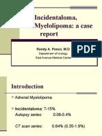 Adrenal Myelolipoma