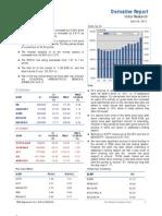 Derivatives Report 26th April 2012