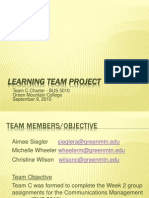 Learning Team Project v-9