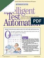Intelligent Test Automation