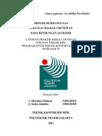 Laporan PKL Herianto Siahaan Dan Indra Jatmiko