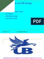 Prensentetion on UB Group