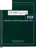 LRDF Calibration Nchrp Rpt 368