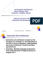 4-Inst Set Architecture