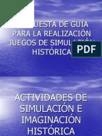 juegos de dramatización PPT