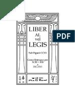 Aleister Crowley - Liber AL Vel Legis