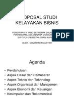 Proposal Studi Kelayakan Bisnis