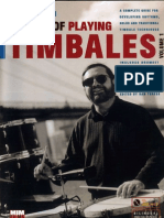 Percussion] Victor Rendon - The Art of Playing Timbales