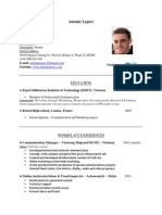 CV Antoine Leporc