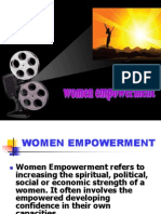 Women Empowernment and Education