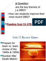 Unit Review Game