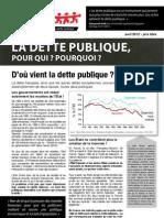 CAC34 - La dette publique, pour qui ? pourquoi ?