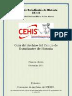 Guia Del Archivo Del CEHIS 2011
