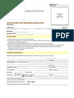 Application for Freshman Admission.pdf UA & P