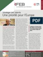 Stratégie des talents. Une priorité pour l'Europe, Infor FEB 14, 26 avril 2012