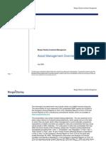 Asset Management Overview