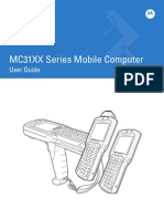 User Manual MC3190