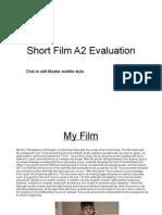 Final Media a2 Evaluation
