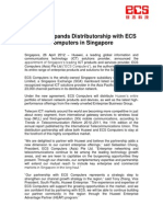 SGX-Listed ECS Holdings ~ Huawei Expands Distributorship with ECS Computers in Singapore