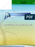 A Briefer on Climate Change
