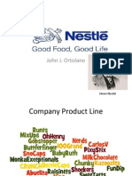Chocolate Industry Final Presentation - Nestle