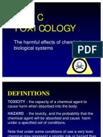 Basic Toxicology