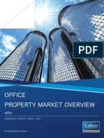 The Knowledge Report_India Office Property Market Overview 1Q 2012