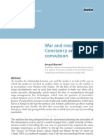 War and Media Constancy and Convulsion