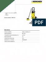 Karcher are Presiune Clasa Medie Karcher K 3.550 T 200
