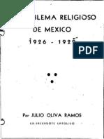El problema religioso 1926 - 1929