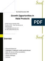 Growth Oppurtunities in Halal