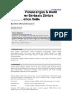 Panduan Perancangan Audit Zimbra Mail Server