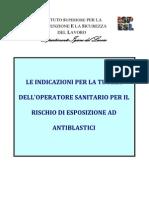 100712 ISPESL Rischi Esposizione Farmaci Cancerogeni