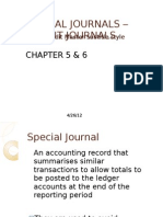 Ch 5 Credit Journals