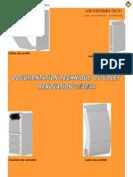 Doc Technique Volets Roulants PVC Et Aluminium