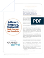 Attract, Engage, Convert_hospital Websites