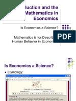 Introduction Mathematics in Economics-1