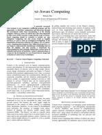 Context-Aware Computing by Subrata Das 08-Cse-1108