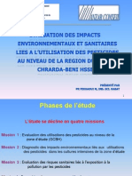 Presentation Environnement-Evaluations Des Impacts Des Pesticides