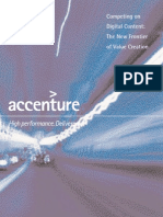 Accenture Competing on Digital Content