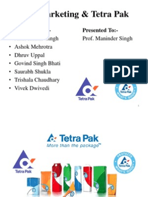 B2B Marketing & Tetra Pak | Brand | Marketing