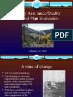 QAQC Evaluation