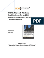9781849685160-Chapter_4_Managing_Users_Computers_and_Printers_Sample_Chapter