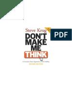 Don't-Make-Me-Think