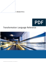 PC 901 Transformation Language Reference En