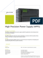 High Precision Power Supply 101111 En