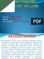 Anthropogenic Activities on Land-1